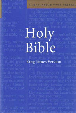 Cambridge Large-Print Holy Bible (Hardback)