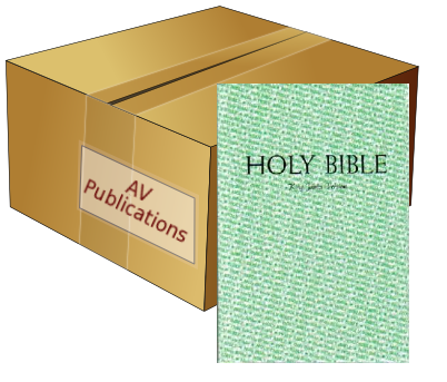 Holy Bible (CASE of 20)