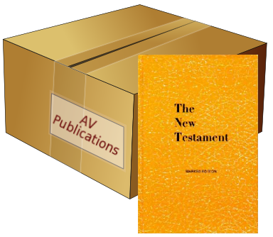 New Testament (CASE of 40)