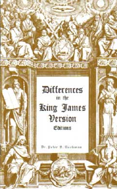 Differences in KJV Editions by Dr. Peter Ruckman