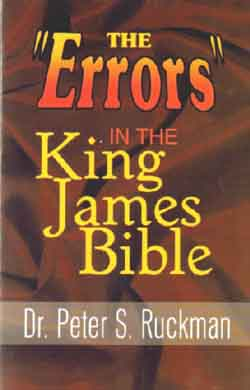 Problem Texts: No Errors in the KJV by Dr. Peter Ruckman