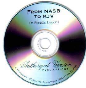 From NASB to KJV (Audio CD or Tape) Logsdon