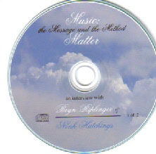 Music: The Method & the Message Matter Audio CD