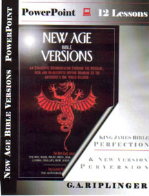PowerPoint Lessons of New Age Bible Versions
