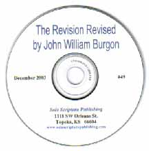 The Revision Revised by Dean John Burgon (CD-ROM)