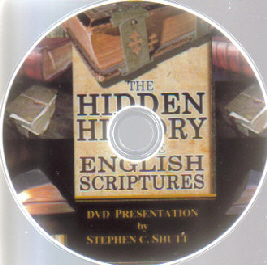 Hidden History of the English Scriptures DVD