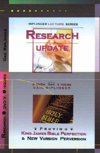 Research Update DVD: Riplinger