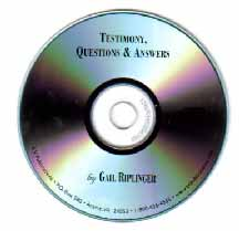 Riplinger Testimony with Questions and Answers AUDIO