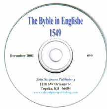 The Byble 1549 w/ Cranmer's Prologue